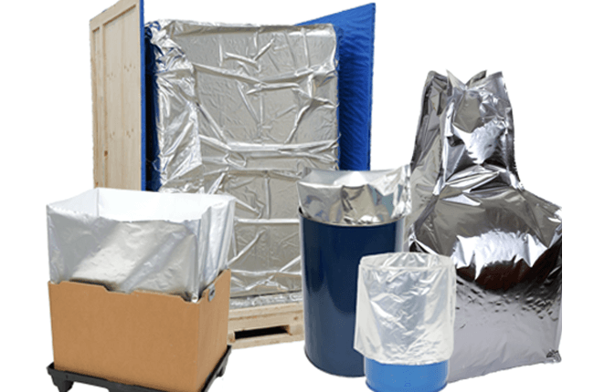Image of Aluminium Barrier Bags Selection